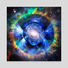 Mystic Universe - Canvas by Bruce Rolff