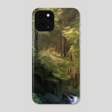 Afternoon Forest - Phone Case by Allison Chin