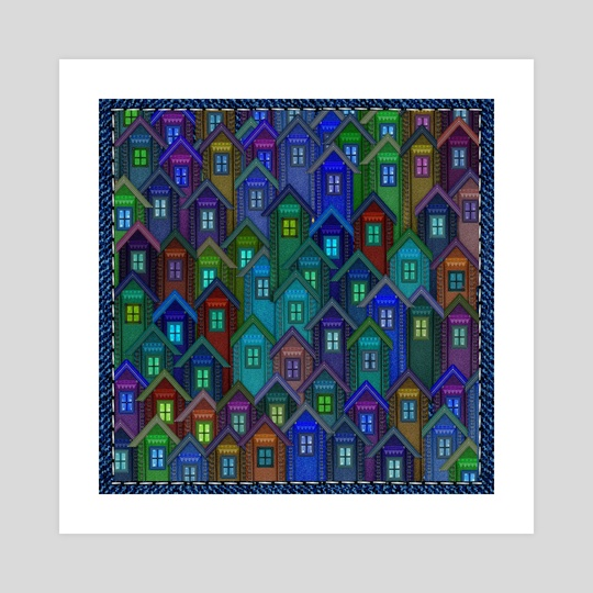 Jeans Housing Estate by Vidka Art