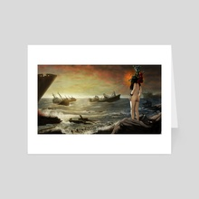 The Reluctant Siren - Art Card by Matthew Riley