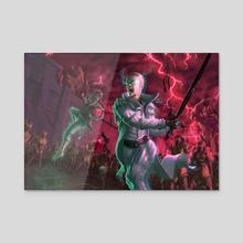Skybreaker & Edgedancer - Acrylic by Jordi Rapture
