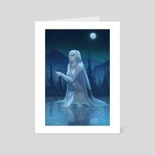 Azura - Art Card by yagaminoue
