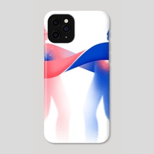 Complimentary opposites - Phone Case by Cat Finnie