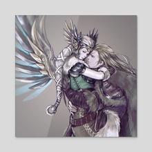 viking mercy76  - Acrylic by miss  ljós