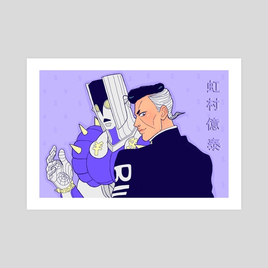 Okuyasu Nijimura and The Hand by Claudia ❤︎