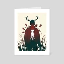 The Deer Hunter - Art Card by Daniel Garcia