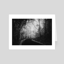 Misty Dark Road - Art Card by Diogo Pereira