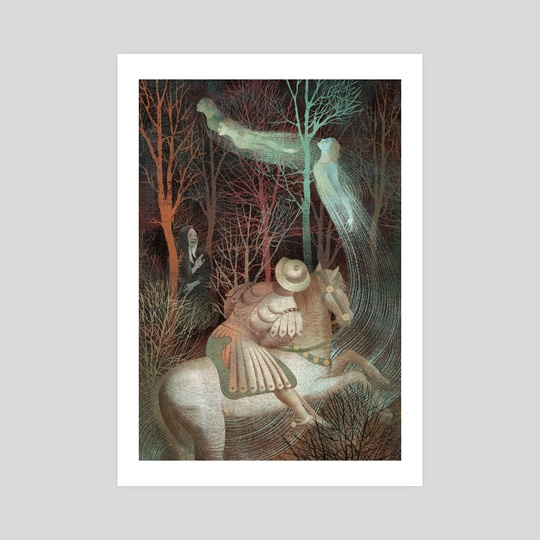 The Canterbury Tales Fairy by Anna and Elena Balbusso Twins