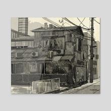 The Old Factory House - Acrylic by Jason Scheier