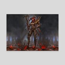 Diablo 3 - Canvas by Marlon  Giron