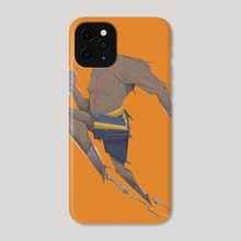 Sagat Robocop - Phone Case by Nasp