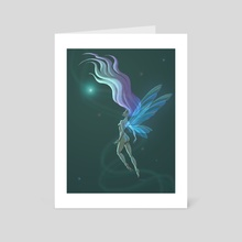 Fairy in the Ether - Art Card by Lindsey Stupica