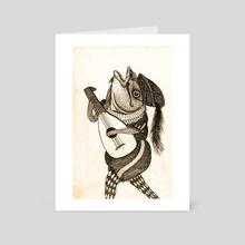 Fishman Jones! - Art Card by Joe Brown