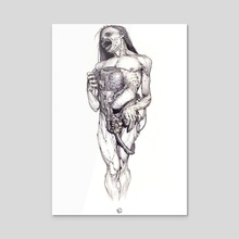 Pipework - Acrylic by Nikolay Georgiev