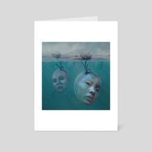 Regeneration - Art Card by Nicole  Wheat