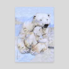 Mama Bear - 3. - Canvas by Fanitsa Art