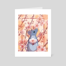 Year of the Rat - Art Card by Christina Chung