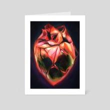 Effigy - Art Card by Martha Wirkijowski