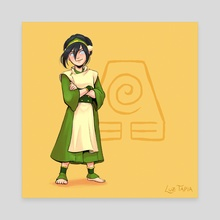 Toph - ATLA (v1) - Canvas by Luz Tapia
