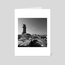 Lighthouse / CF_2361 - Art Card by Carlos Felix