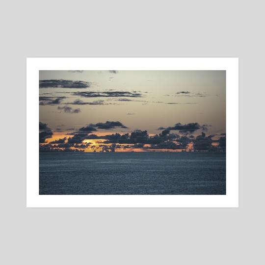 Calm Pacific I by Jordan Vinson