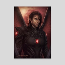 Commander  - Canvas by Dominique Wesson