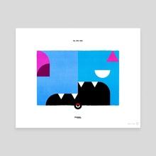 PKMNML #041-042 Zubat - Golbat - Canvas by Matt Vee