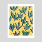 Plant Party - Art Print by Loveis Wise