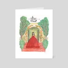 Gone with the Wind - Art Card by Normandie Luscher