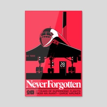 Never Forgotten (Variant) - Acrylic by Gianmarco Magnani