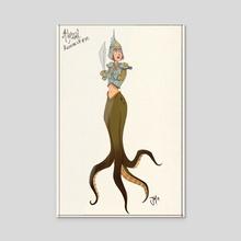 Marie-Morgane #02 - Acrylic by Captain Jack