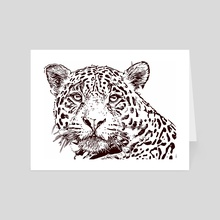 Extinction - Cheetah - Art Card by Xtinction