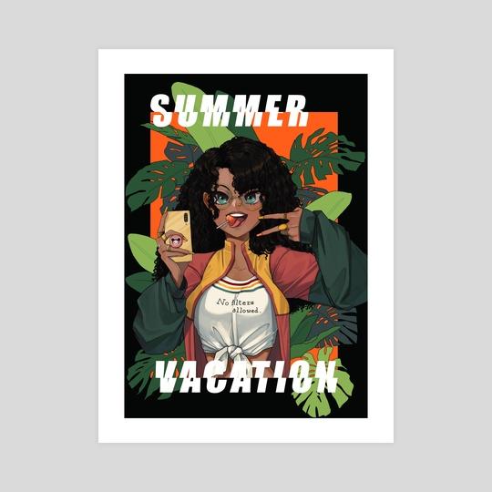 Summer Vacation by Magalie Yang