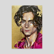 timothee chalamet - Canvas by Jackie Liu