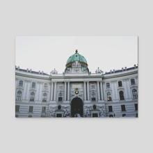 Architecture - Acrylic by Nazar Hrabovyi