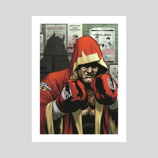 Daredevil boxing. by Rodrigo Lorenzo