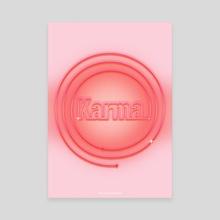 Karma - Canvas by Nicole Shoko