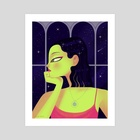 Space out - Art Print by Joana Neves