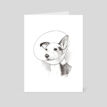 Noble Hound No. 2 - Art Card by Chris Cerrato