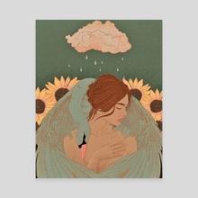 Self Care - Canvas by Diya Sengupta