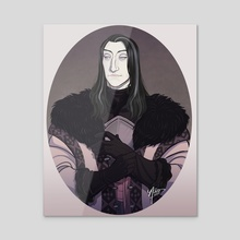 Roose Bolton - Acrylic by NaomiMakesArt