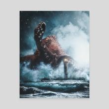 The Octopus - Canvas by Marco Zagara