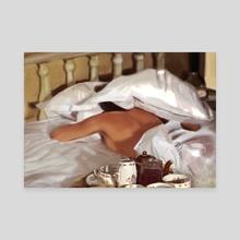Sunday Morning - Canvas by Pamela Navarro