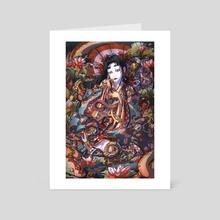 The Snake Woman - Art Card by Anandah Janaé