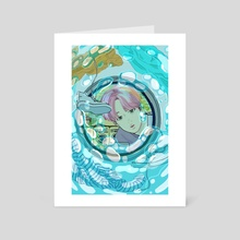spring day - Art Card by Shii chobidesign