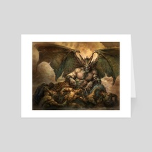 Hellcarver Demon - Art Card by Greg Staples