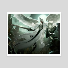 Angelic Overseer - Canvas by Jason Chan