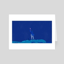 June - Clairo - Art Card by Laurent Hrybyk