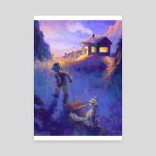 The Joy of Winter - Canvas by Garth Laidlaw