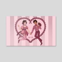 Valentine - Acrylic by JC